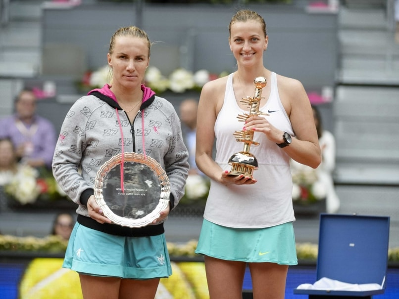 Petra Kvitova Thrashes Kuznetsova to Win Madrid Open