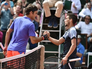 French Open: Roger Federer Delivers Bosnian Blues to Tennis Star Damir Dzumhur