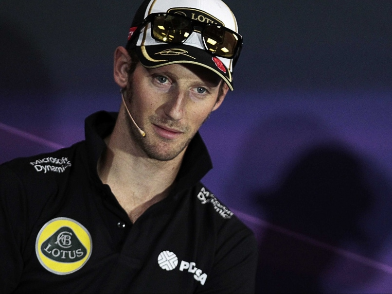Romain Grosjean Handed Five Place Grid Penalty in Belgian Grand Prix