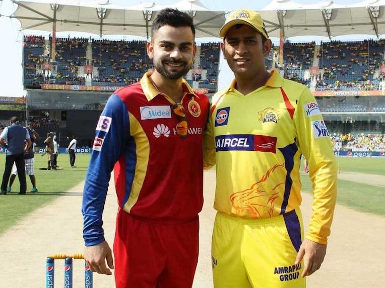 Virat Kohli MS Dhoni IPL 2015