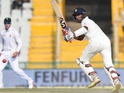 India vs South Africa Mohali Test Day 2 Highlights: Cheteshwar Pujara Fifty, Murali Vijay's Solid Knock Gives Hosts Advantage