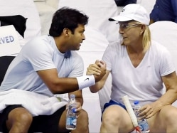 Leander Paes is my Favourite Mixed Doubles Partner: Martina Navratilova