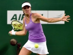 Martina Hingis Shines as Hyderabad Aces Beat Chennai Warriors in Champions Tennis League