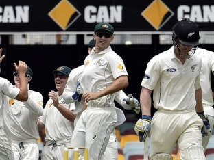 Australia Continue Gabba Dominance, Thrash New Zealand by 208 runs in First Test
