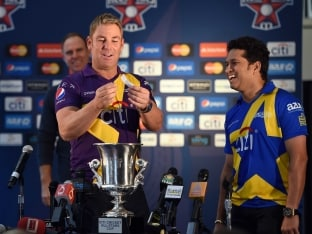 All Stars Cricket As it Happened - Warne's Warriors Beat Sachin's Blasters by 6 Wickets