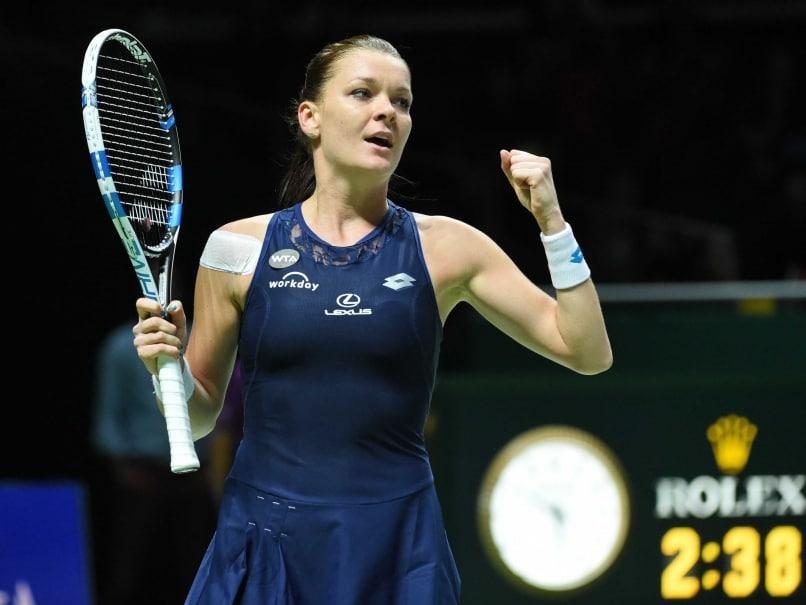 Agnieszka Radwanska Defeats Alison Riske For Shenzhen Open Title