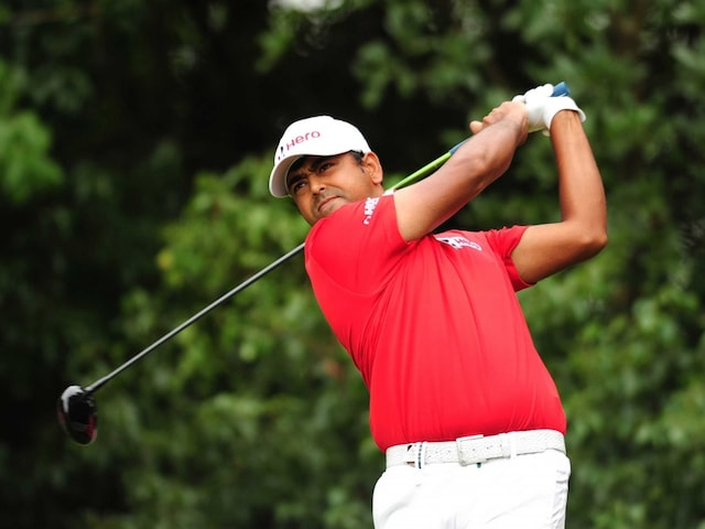 Relieved Anirban Lahiri All Smiles Again After Taking Route 66 at WGC-HSBC Champions