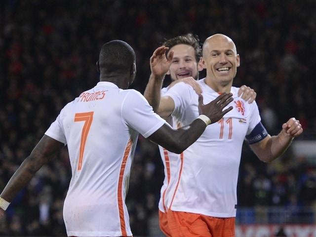 Arjen Robben Sinks Wales as Holland Bounce Back