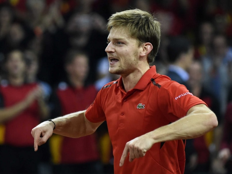 Davis Cup: David Goffin Wins Five-Setter to Boost Belgium
