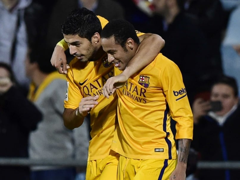 Luis Suarez, Neymar Keep FC Barcelona on Track