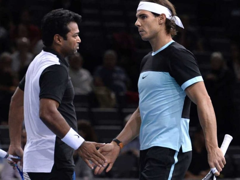 At 43, After 18 Grand Slams, Leander Paes Wants to Learn From Rafael Nadal
