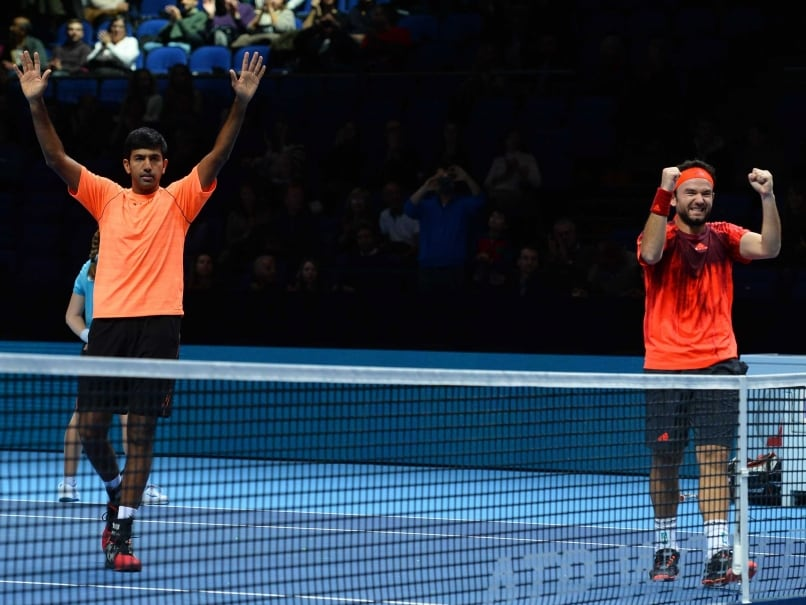 Rohan Bopanna-Florin Mergea Break Into Top 10 in Doubles Rankings