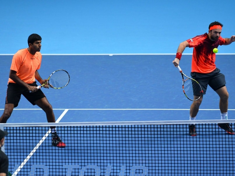 Rohan Bopanna-Florin Mergea Advance to World Tour Finals Semis