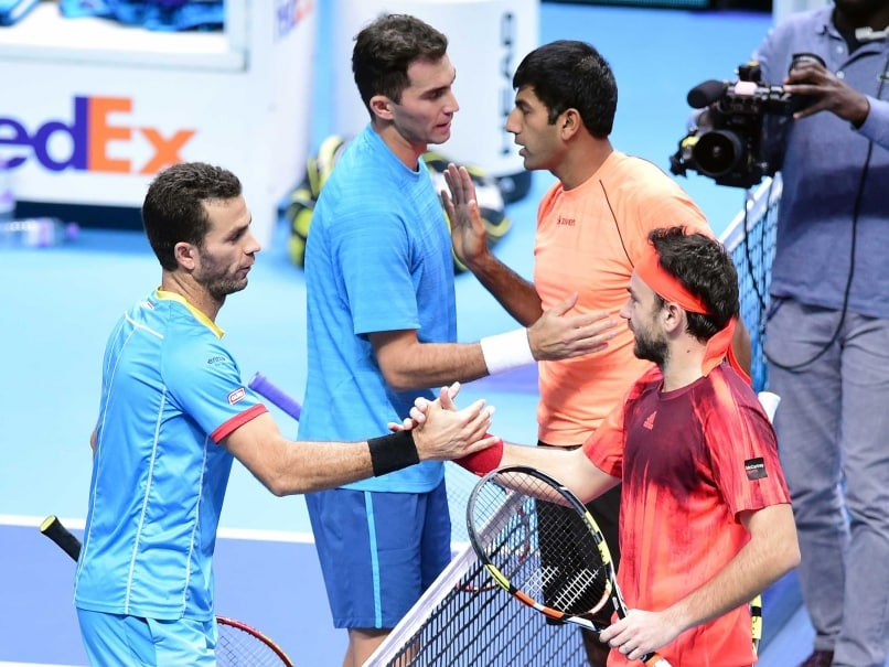 Rohan Bopanna-Florin Mergea End Runners-up at World Tour Finals