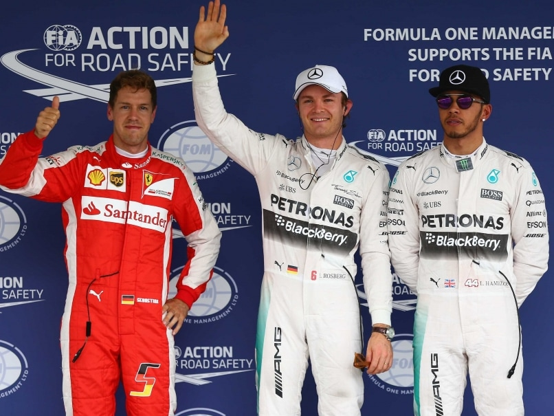 Nico Rosberg Takes Pole in Mexico