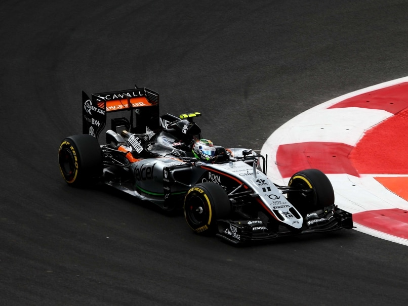 Force India to Start From Fifth Row at Mexican Grand Prix