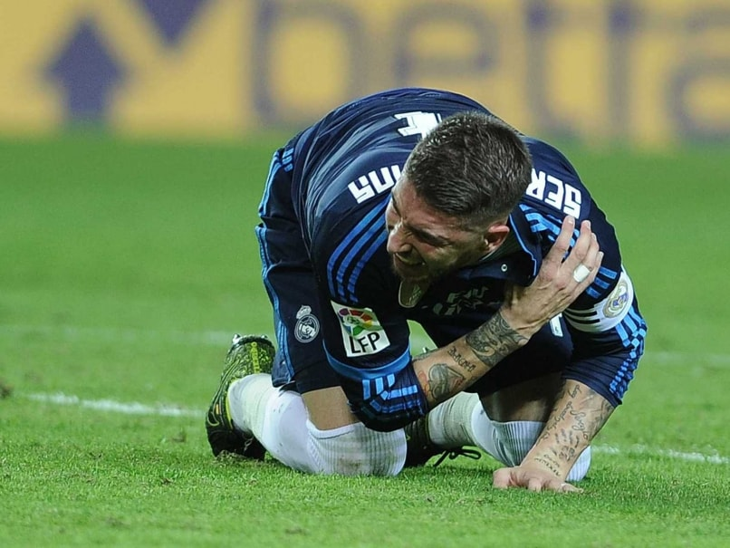 73fcbecb50a Real Madrid Skipper Sergio Ramos to Miss Spain s Clash Against England