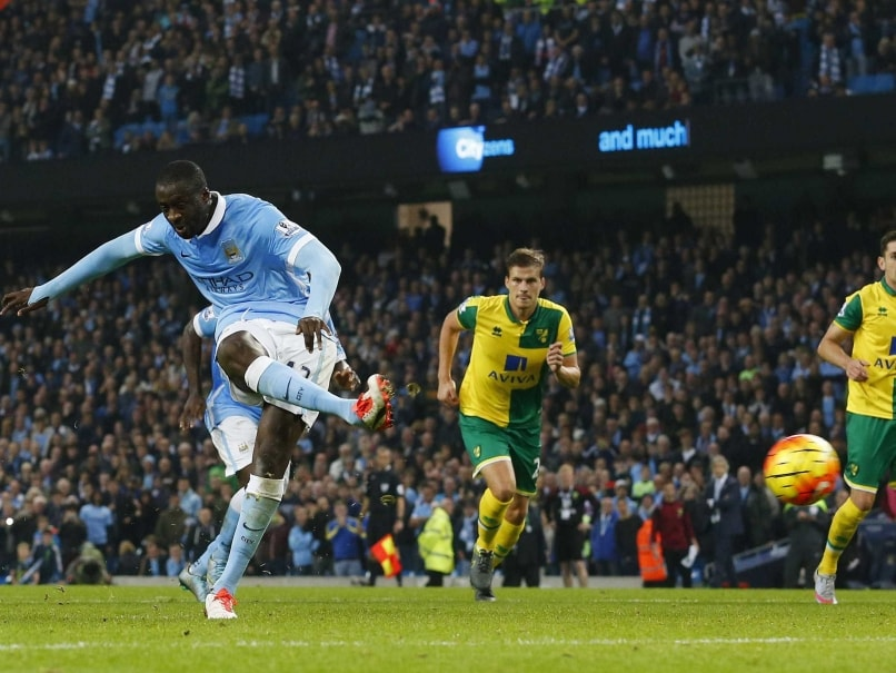 Yaya Toure Strikes Late to Keep Manchester City F.C. in Pole Position