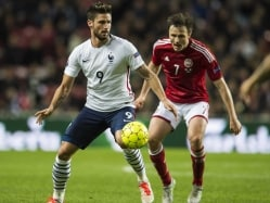 Olivier Giroud at Double as France Down Denmark 2-1 in Friendly