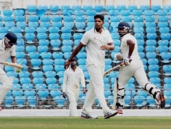 Yadav Struggles With Ball for Vidarbha, Gambhir