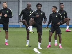 With Sergio Aguero Injured, Manchester City's Wilfried Bony Ready to Fill Void