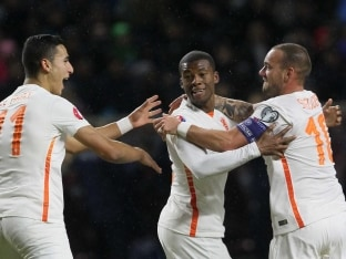 Wesley Sneijder Shines as Netherlands Stay on Course for Euro 2016 Berth