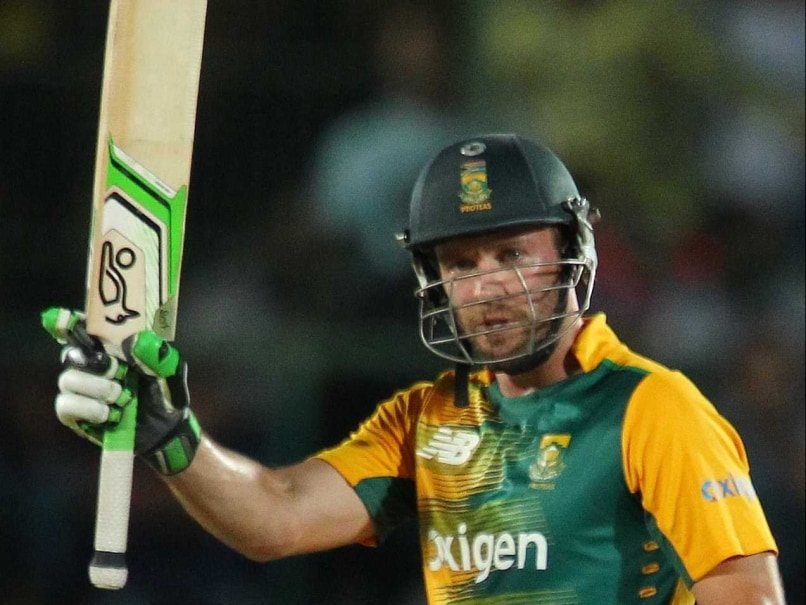 2nd T20I: AB de Villiers Opening The Batting An Experiment ...