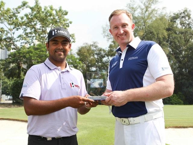 Anirban Lahiri Wins Asian Tour Golfer of the Month Award