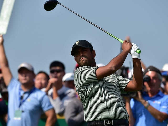 Anirban Lahiri To Sit Out of Fourballs Competition After Disappointing Presidents Cup Debut