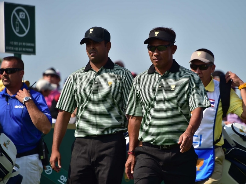 Anirban Lahiri, Thongchai Jaidee Lose on Presidents Cup Debut