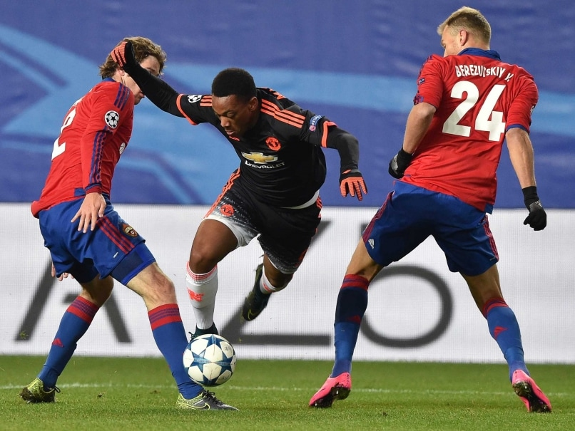 Champions League: Anthony Martial Rescues Manchester United F.C. in Hard-Fought Moscow Draw
