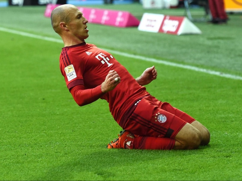 Arjen Robben Scores on Return as FC Bayern Munich Record 1000th Bundesliga Win