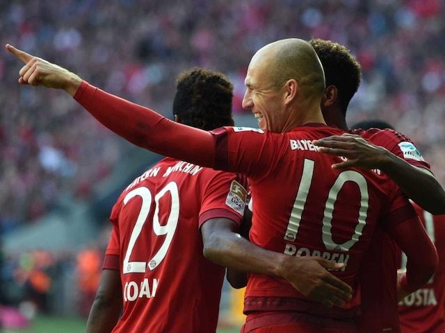 Goal Against Cologne a Reward For my Comeback, says Arjen Robben