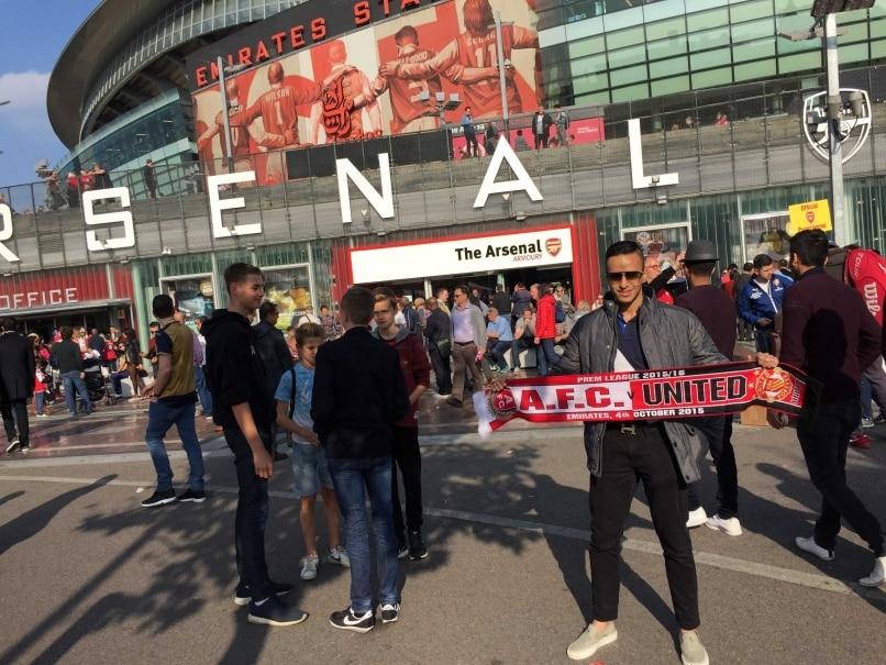 Inside the Emirates Stadium: Arsenal F.C. vs Manchester United F.C.