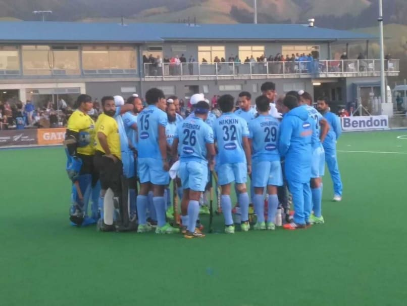 Indian Hockey Team Goes Down 2-0 to New Zealand in Opener
