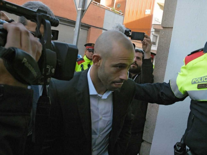Javier Mascherano Admits to Tax Fraud Charges