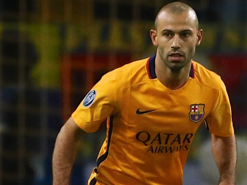 FC Barcelonas Javier Mascherano Faces Four Match Ban