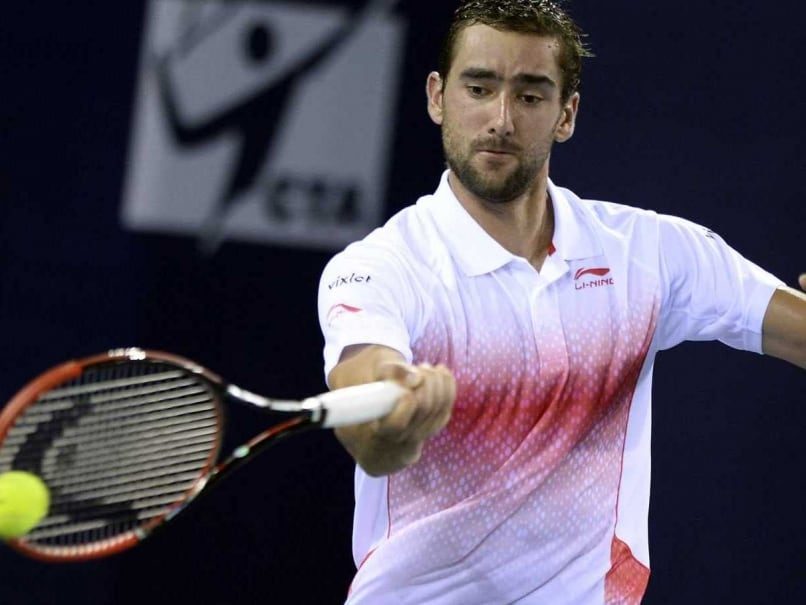 Shenzhen Open: Marin Cilic Charge Slowed by John Millman