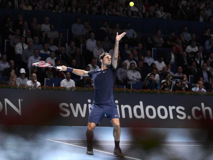Roger Federer Into Basel Last-Eight After 11th Win Over Philipp Kohlschreiber