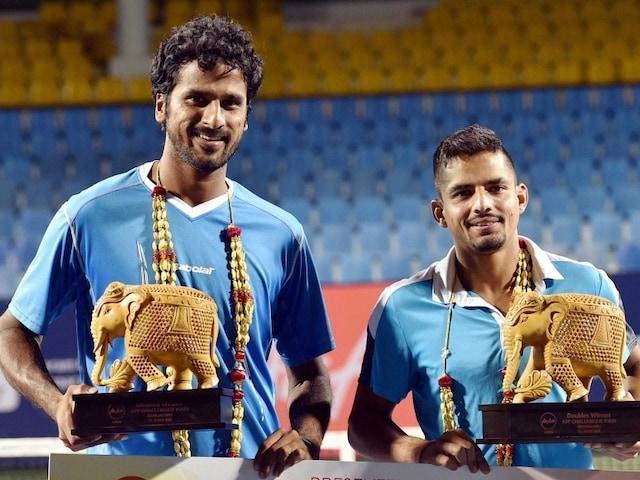 Saketh Myneni-Sanam Singh Clinch Doubles Title at AirAsia Open