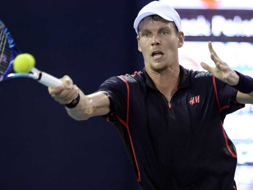 Tomas Berdych, Guillermo Garcia-Lopez Advance to Shenzhen Open Final