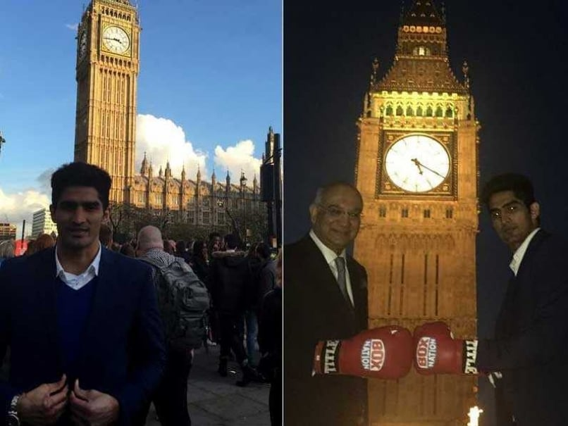Vijender Singh Turns 30, Visits The House of Commons