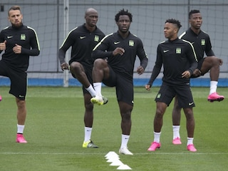 With Sergio Aguero Injured, Manchester Citys Wilfried Bony Ready to Fill Void