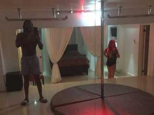 'Player' Chris Gayle Has a 'Strip Club' in his House