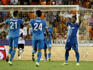 Champions League: Hulk-Powered Zenit St Petersburg Win at Valencia