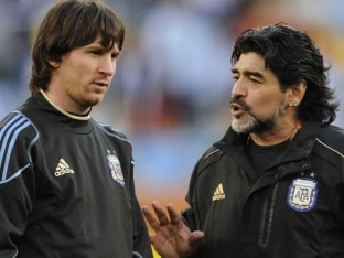 Lionel Messi's International Retirement Was 'Staged': Diego Maradona