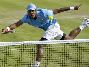 Vishnu Vardhan Starts National Tennis Championship Title Defence in Style