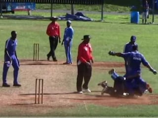 Bermuda Cricketer Jason Anderson Involved in Ugly Brawl