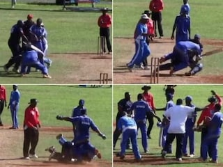 Bermuda National Cricketer Jason Anderson Handed Life Ban After Ugly Brawl in Match