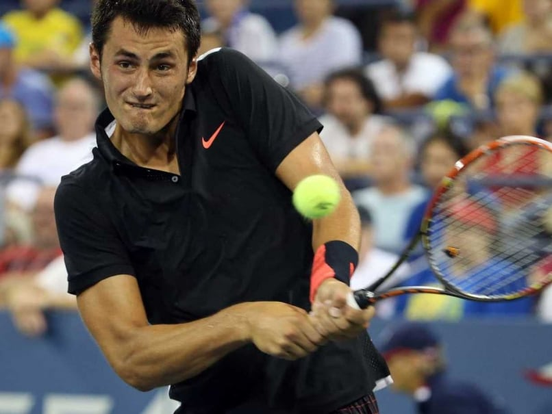 Bernard Tomic Sends Off Former Champion Lleyton Hewitt at US Open